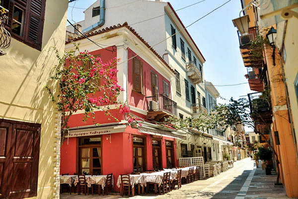 Shop and Eat in Nafplio